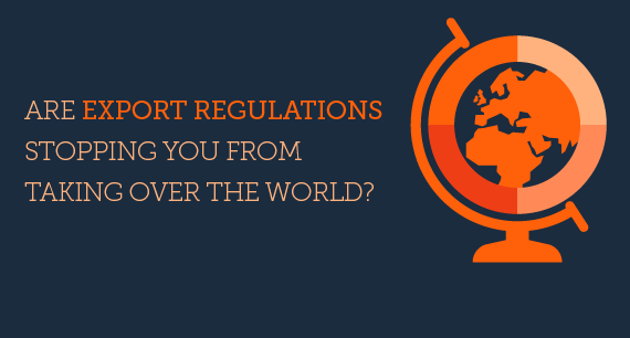Need Help with Export Regulations?